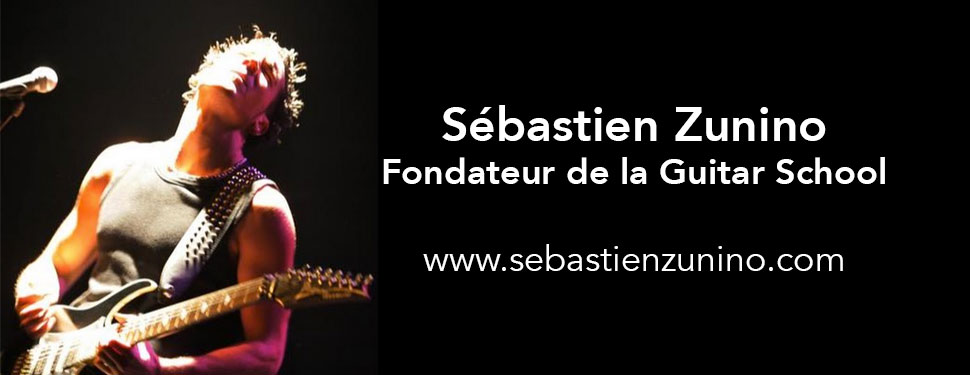 Interview du guitariste Sébastien Zunino